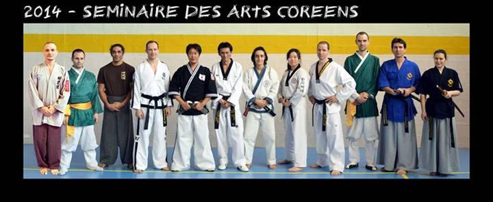 séminaire des arts martiaux coréens 2014