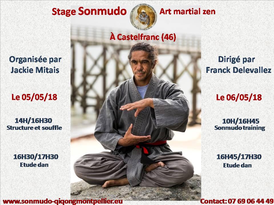 Club Affilié - Stage Sonmudo dans le Lot