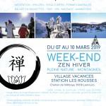 Club affilié - Week-end hiver
